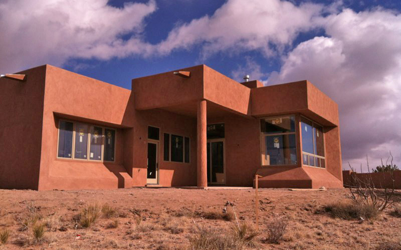 Placitas NM contemporary home